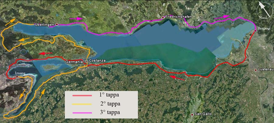 Lago Di Costanza Germania Cartina.E Adesso Pedala Lago Di Costanza